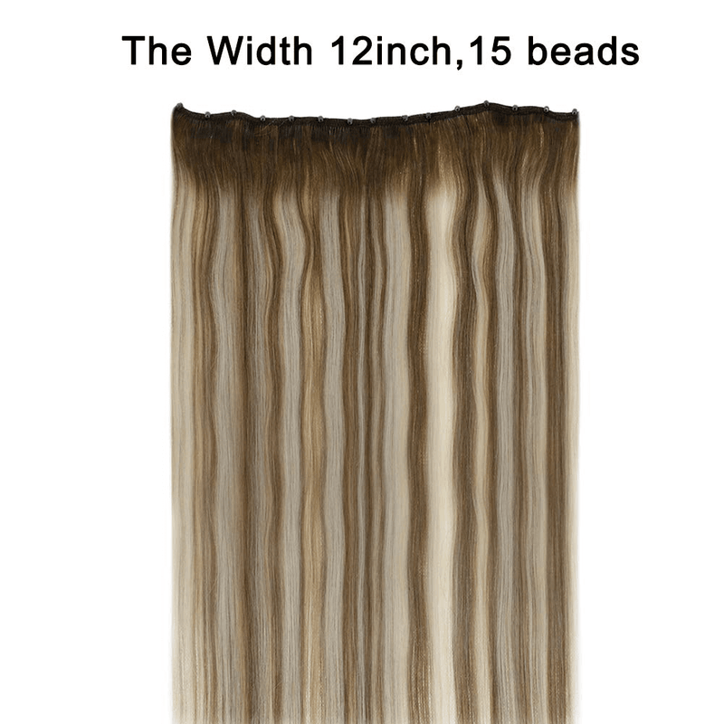 ensions beads weft human hair beads on hair bundles ready to apply 50 gram hair bundle