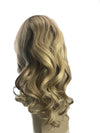 Front Lace Wig Free Part with Baby Hair Highlight Ash Brown to White Blonde 130% Density(P8/60) - LaaVoo
