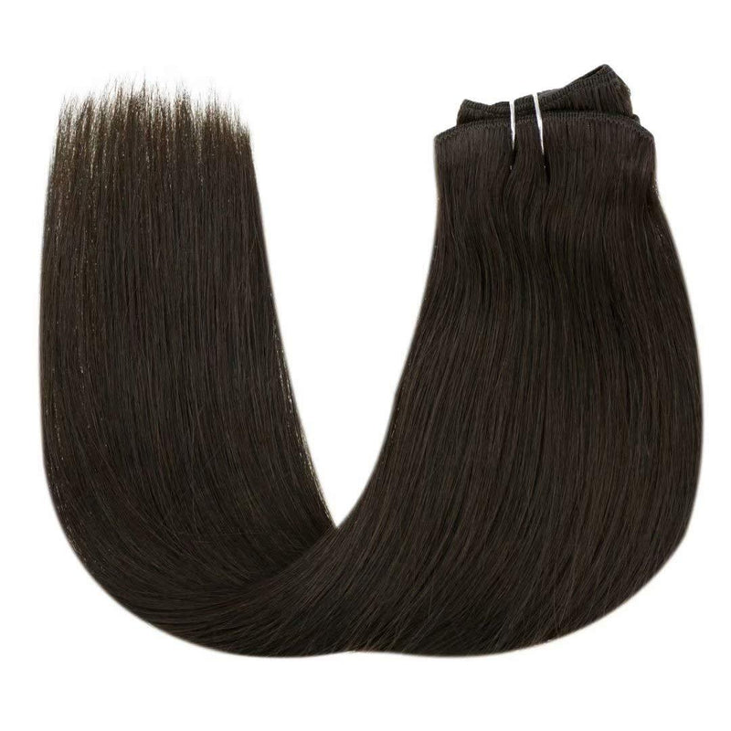 good clip in hair brand healthy hair healthy human hair human hair clip ins LaaVoo Clip in hair Official hair extensions remy human hair