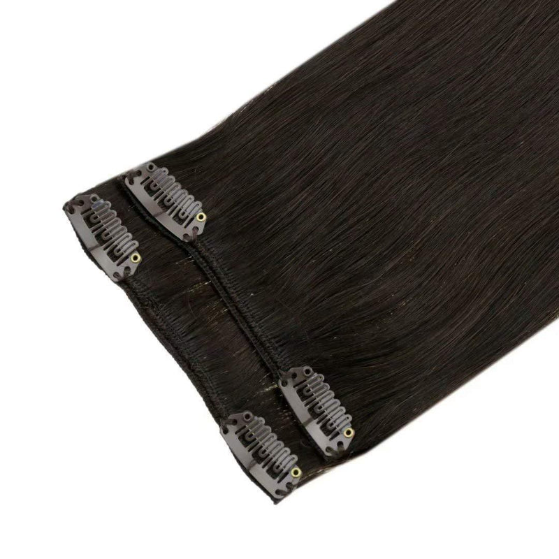 seamless hair extensions clip in clip in weave 100% healthy human hair real human hair easily apply easily install easily remove quality hair
