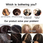 Mono Hair Topper Remy Human Hair Clip in Crown Hair Piece Toupee for Women Balayage #8T60| LaaVoo - LaaVoo