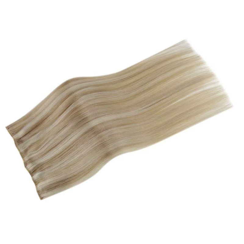 invisible clips in hair seamless clip in hair extensions double weft human hair clip in extensions weft hair extentions