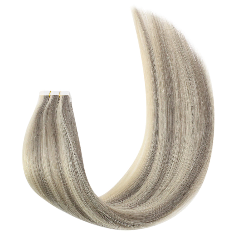 double side tape in hair double side tape ins easy to remove fantasy colors fashion color glue in hair hair supplier
