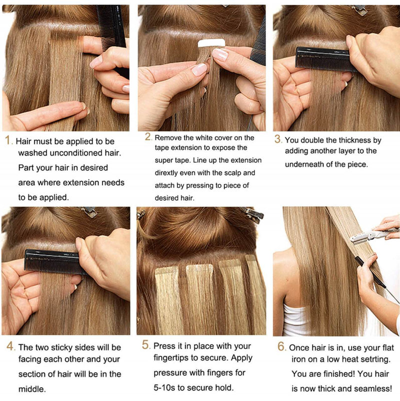 blonde ombre brown tape in extensions balayage blonde tape in extensions hair extensions tape ombre brown tape in hair brown blonde remy hair tape in 50 gram