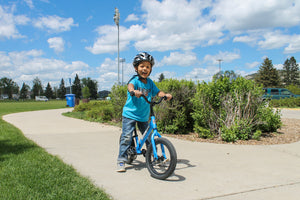 Moving from a Balance Bike to a Pedal Bike