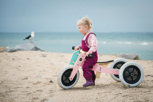 Wishbone launches 2 new colours for famous 3-in-1 balance bike