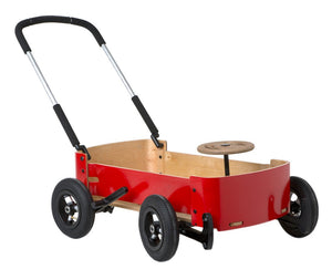 Wishbone Wagon in Red - Balance Bikes Canada
