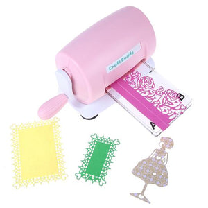 Die Cut Machine Pink - Rainbow Cabin