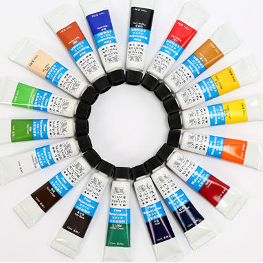Classic Quality Watercolor Paint Set - Rainbow Cabin