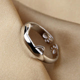 Beautiful Cat Paws & Ears Ring - Rainbow Cabin