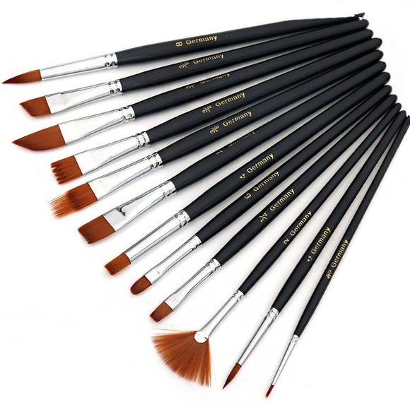 Paint Brushes Set of 12