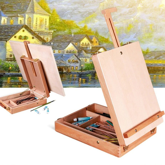Desktop Wooden Box Easel