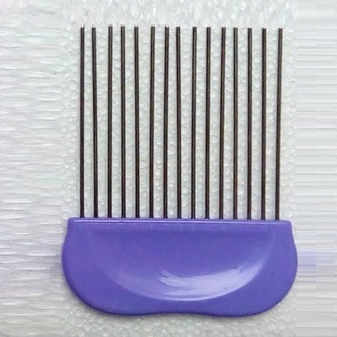 Paper Quilling Comb Purple - Rainbow Cabin