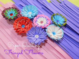 Paper Quilling Fringer - Rainbow Cabin