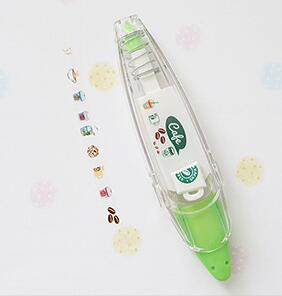 Cute Prints White Out Correction Tape - Rainbow Cabin