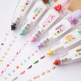 Cute Cartoons White Out Correction Tape - Rainbow Cabin