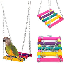 Load image into Gallery viewer, *FREE* Toy Bird Swing - Rainbow Cabin