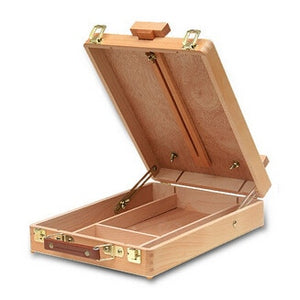Desktop Wooden Box Easel - Rainbow Cabin