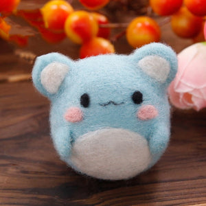Kawaii Pet Felt Craft Kit With Tools - Rainbow Cabin