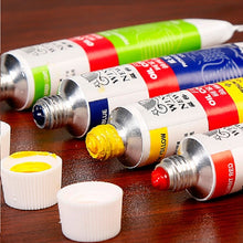 Load image into Gallery viewer, Winsor and Newton Oil Paint Tubes Art Supplies 12 or 18 Colors - Rainbow Cabin