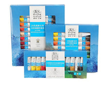 Load image into Gallery viewer, Winsor and Newton Classic Quality Watercolor Paint Set - Rainbow Cabin