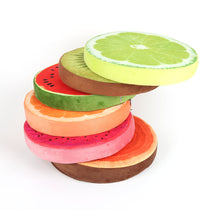 Load image into Gallery viewer, Fruit Cushion Pad - Rainbow Cabin
