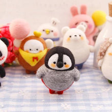 Load image into Gallery viewer, Cute Penguin Felt Craft Kit With Tools - Rainbow Cabin