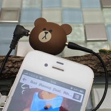 Load image into Gallery viewer, Rilakkuma Bear Jack Plug - Rainbow Cabin
