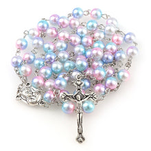 Load image into Gallery viewer, Round Pearls Rosary Beads - Rainbow Cabin
