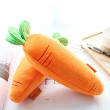 Load image into Gallery viewer, Plush Carrot Pencil Case - Rainbow Cabin