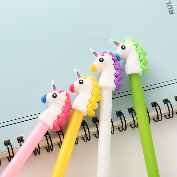 Fine Tip Unicorn Gel Pen - Rainbow Cabin
