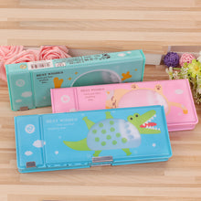 Load image into Gallery viewer, Cute Two-Way Pencil Case - Rainbow Cabin