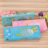 Cute Two-Way Pencil Case - Rainbow Cabin