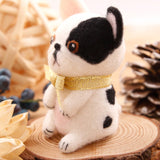 Cute Bulldog Felt Craft Kit With Tools