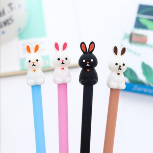 Cute Rabbit Gel Pen - Rainbow Cabin