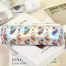 Load image into Gallery viewer, Cute Unicorn Pencil Case - Rainbow Cabin