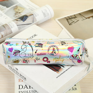 Cute Unicorn Pencil Case - Rainbow Cabin