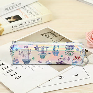 Cute Cactus Plants Pencil Case - Rainbow Cabin