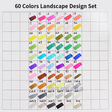 Load image into Gallery viewer, Superior Landscape Artist Marker Pens 40/60/80 Colors - Rainbow Cabin