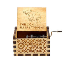 Load image into Gallery viewer, Game of Thrones Wood Carved Music Box - Rainbow Cabin
