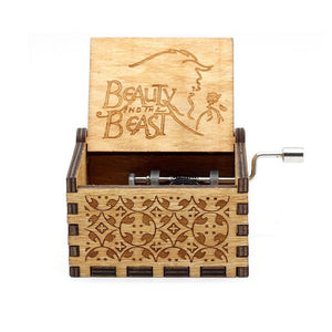 Game of Thrones Wood Carved Music Box - Rainbow Cabin