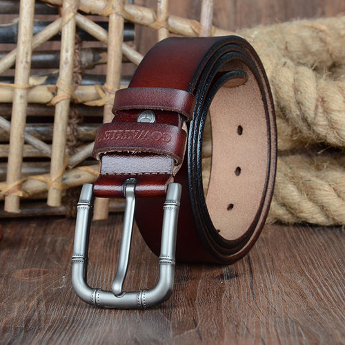 Cowather Genuine Cow Leather Belt - Rainbow Cabin