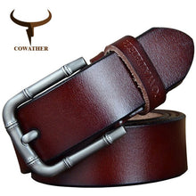 Load image into Gallery viewer, Cowather Genuine Cow Leather Belt - Rainbow Cabin