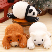 Load image into Gallery viewer, Little Panda Bear Felt Craft Kit With Tools - Rainbow Cabin