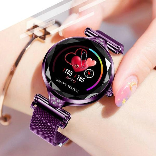Ladies Smart Watch for Android and iOS - Rainbow Cabin