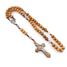 Load image into Gallery viewer, Wood Beads Rosary - Rainbow Cabin