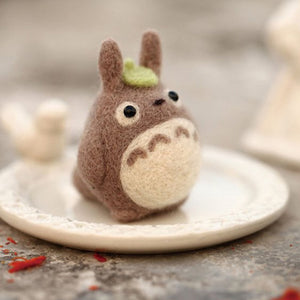 Totoro Felt Craft Kit With Tools - Rainbow Cabin