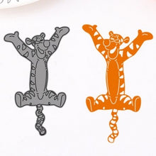 Load image into Gallery viewer, Metal Die Cut Stencil - Tigger - Rainbow Cabin