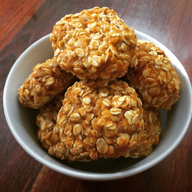 Easy Oat and Pumpkin Cookies