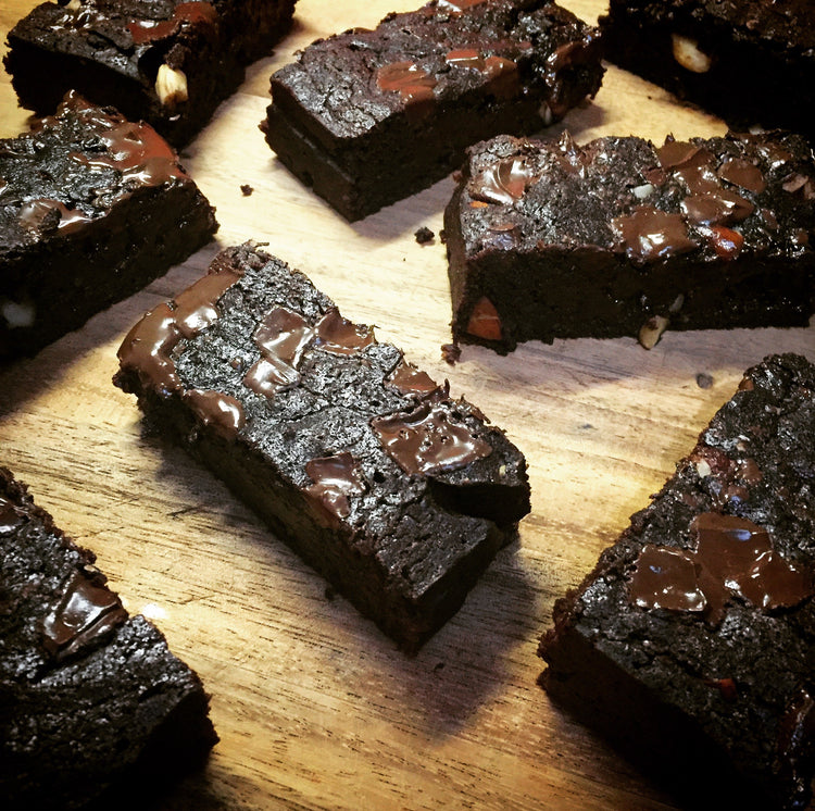 Fudgy Vegan Brownies